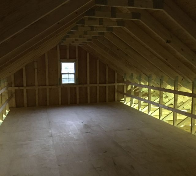 28x28 view of attic space